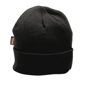 Portwest B013 Insulatex Beanie Hat Black