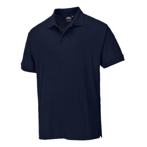 Portwest Naples B210 Work Polo Shirt Navy