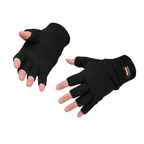 Portwest Fingerless Glove Knitted Insulatex GL14
