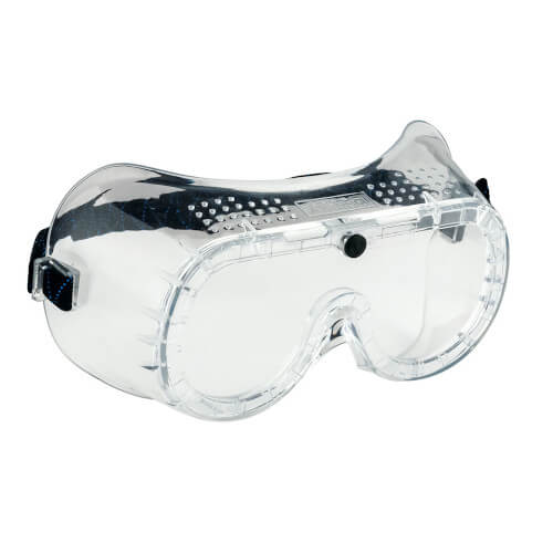 Portwest Direct Vent Goggles PW20 Clear Goggles