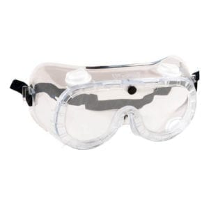 Portwest Indirect Vent Goggles PW21 Clear Goggles