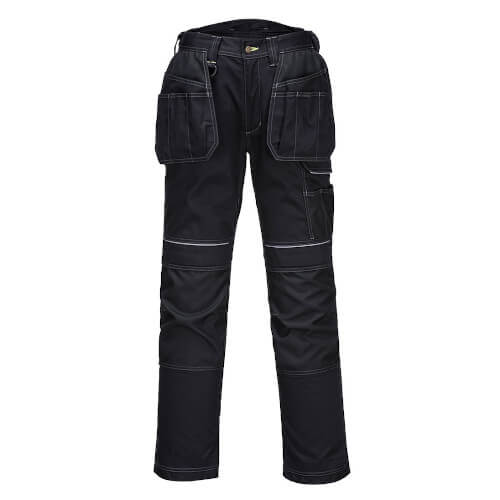 Portwest T602 Urban Holster Work Trousers Black