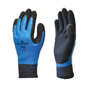 SHOWA 306 Latex Work Gloves