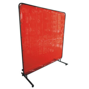 Portable Amber Welding Screen 1.8m x 2.4m