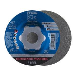 Pferd CC-Grind Solid SG Steel Grinding Disc 115mm