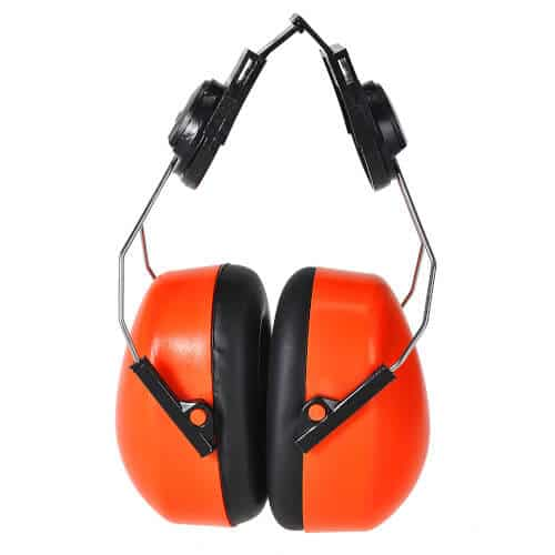 Portwest Hi-Vis Clip-On Ear Defenders PS47
