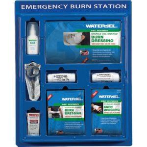 Water-Jel Burns Kit Wall Panel M6628