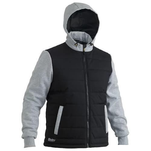 Bisley FLEX N MOVE Hooded Puffer Fleece 6944