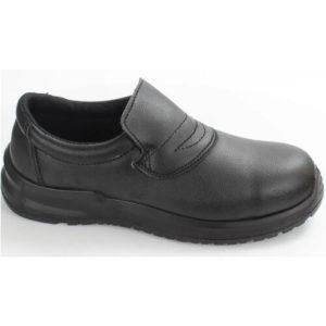 Blackroc Hygiene Slip-on Safety Shoe SRC04 Black