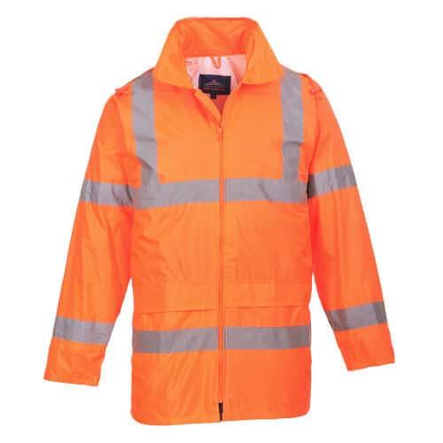 Hi Vis Waterproof Rain Jacket