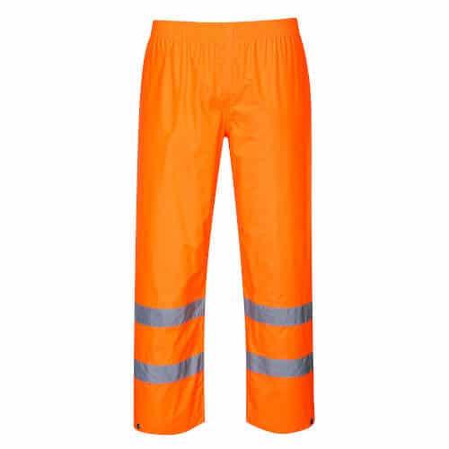 Hi Vis Waterproof Rain Trousers