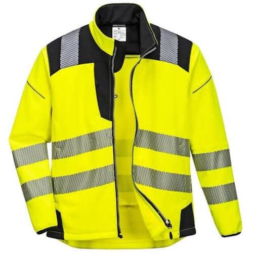 Hi Vis Vision Softshell Jacket