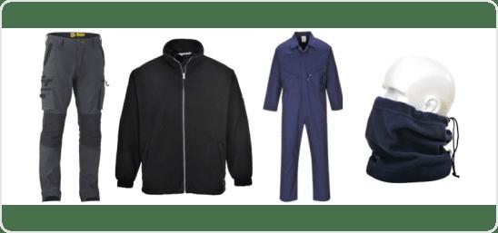 CLOTHING WORKWEAR category