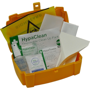 Body Fluid & Sharps Disposal Kits