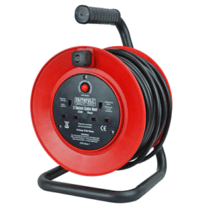 Cable Reel 240V 25 Metre 13A Extension Cord