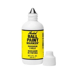 markal 84621 ball paint marker yellow