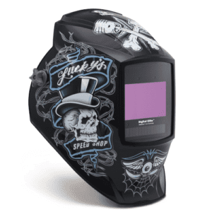 Miller Digital Elite Lucky's Speed Shop Welding Helmet