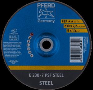 Pferd PSF Steel Grinding Disc 230mm x 7.0mm