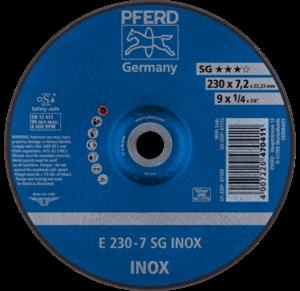 Pferd SG Inox Grinding Disc 230mm x 7.0mm 62223632