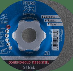 pferd 64185115 ccgrind solidsg grinding disc