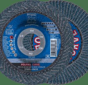 pferd 67689032 z sgp curve steelox flap disc