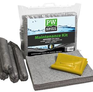 Portwest SM30 20 Litre Spill Maintenance Kit