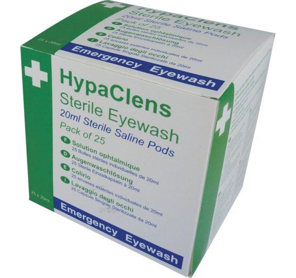 safetyfirstaid hypaclens eyewash pods
