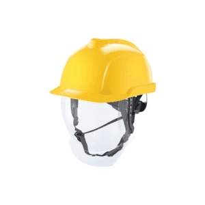 MSA V-Gard 950 Safety Helmet with Retractable Visor