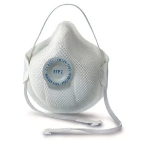 Moldex 2485 Smart FFP2 Valved Face Mask (Box of 20) Disposable Non-Reusable Face Mask