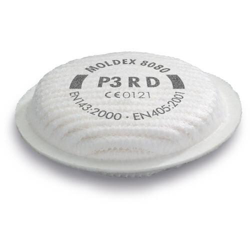 Moldex 8080 P3R Filters (Pair)