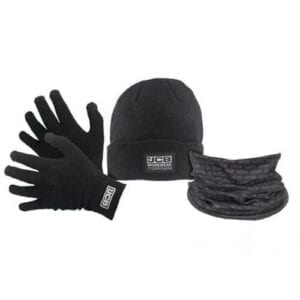 JCB Winter Set - Gloves, Beanie Hat and Snood