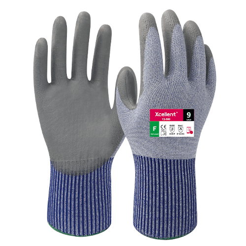 Xcellent Cut Resistant Gloves 12-380 (Cut F Rated Gloves) Highest Level of Cut Protection
