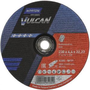 Norton VULCAN Grinding Discs 230mm x 6.4mm (Pack of 10)