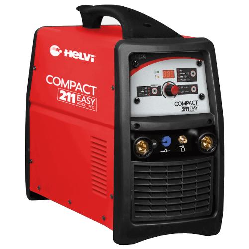 Inverter Welder HELVI COMPACT 211 AC/DC TIG/ARC Single-Phase Inverter Welder
