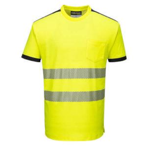Portwest PW3 Hi-Vis Short-Sleeve T-Shirt T181