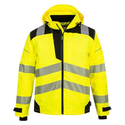 Portwest PW3 Hi-Vis Extreme Rain Jacket PW360